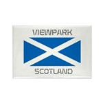Viewpark Scotland Rectangle Magnet (10 pack)