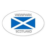 Viewpark Scotland Sticker (Oval 10 pk)