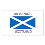 Viewpark Scotland Sticker (Rectangle 10 pk)
