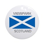 Viewpark Scotland Ornament (Round)