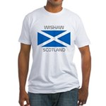 Wishaw Scotland Fitted T-Shirt