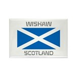 Wishaw Scotland Rectangle Magnet (10 pack)