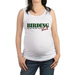 Birding Slut Maternity Tank Top