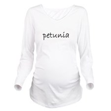 petunia 1 Long Sleeve Maternity T-Shirt