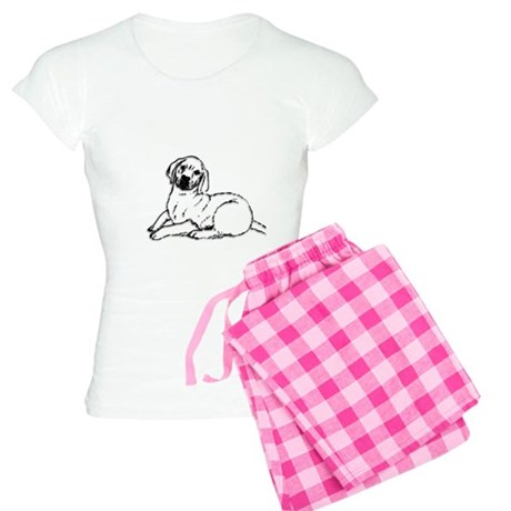 Golden Retriever Puppy Women's Light Pajamas