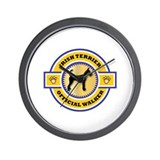 Terrier Walker Wall Clock