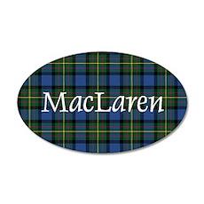 Tartan - MacLaren 20x12 Oval Wall Decal