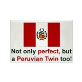 Peruvian Twin-Perfect Rectangle Magnet