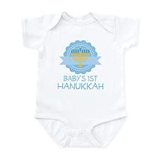 Baby's 1st Hanukkah Boys Onesie
