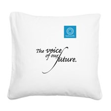 Radiocentrix Square Canvas Pillow