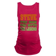 Steve The Legend Maternity Tank Top