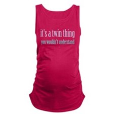 Twin Thing 2 Maternity Tank Top