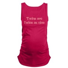 Twins are Twice as Nice Maternity Tank Top