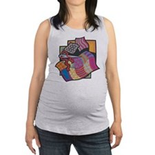 Quilting Maternity Tank Top