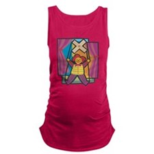 Puppetry Maternity Tank Top