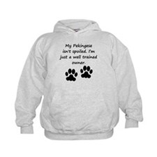 Well Trained Pekingese Owner Hoodie