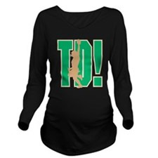 Touchdown! Long Sleeve Maternity T-Shirt