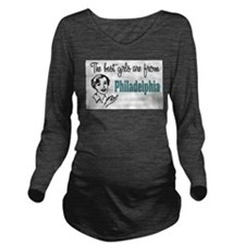 Best Girls Philadelphia Long Sleeve Maternity T-Sh