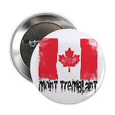 "Mont-Tremblant Grunge Flag 2.25"" Button"
