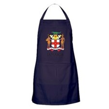 Coat of Arms of Jamaica Apron (dark)