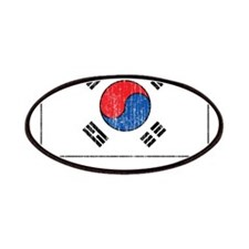 South Korea Flag Patches