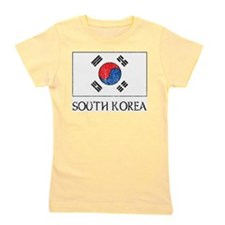 South Korea Flag Girl's Tee