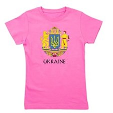 Coat of Arms of Ukraine Girl's Tee