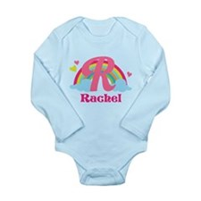 Personalized R Monogram Body Suit