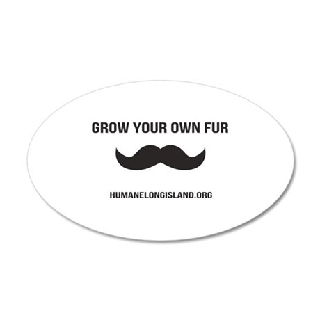 Grow Your Own Fur Wall Decal