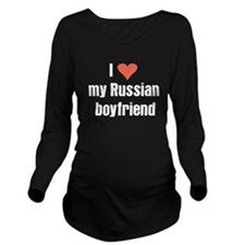 I love my Russian boyfriend Long Sleeve Maternity