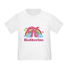 Personalized K Monogram T-Shirt