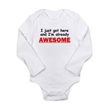 Im Already Awesome Body Suit