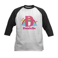 Personalized D Monogram Baseball Jersey