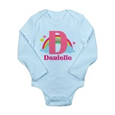 Personalized D Monogram Body Suit