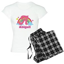 Personalized A Monogram Pajamas