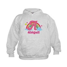 Personalized A Monogram Hoodie