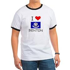 I Love BENTON Louisiana T-Shirt