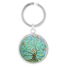 Tree of Life Round Keychain