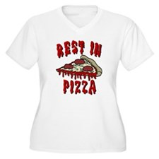 RIP Rest In Pizza Plus Size T-Shirt