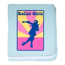 Roller Girls baby blanket