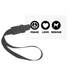 Canaan Dog Luggage Tag
