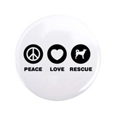 "Canaan Dog 3.5"" Button (100 pack)"