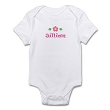 "Pink Daisy - ""Jillian"" Infant Bodysuit"