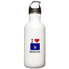 I Love Bristol Maine Water Bottle