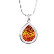 fire and flame Necklaces