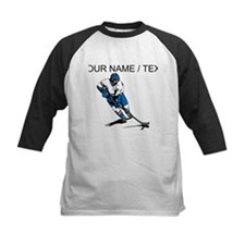 Custom Hockey Player Baseball Jersey