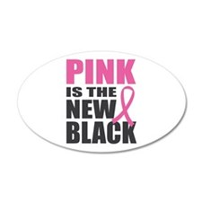 BCA Pink New Black Wall Decal