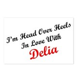 In Love with Delia Postcards (Package of 8)
