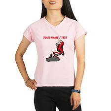 Custom Snowboarder Performance Dry T-Shirt