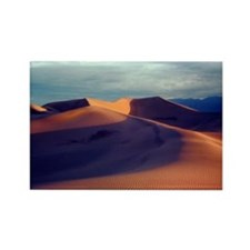 Death Valley Sand Dunes Rectangle Magnet